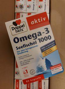 Packung Omega-3 Seefischöl 1000 Kapseln 80 St Drogeriegroßhandel.de
