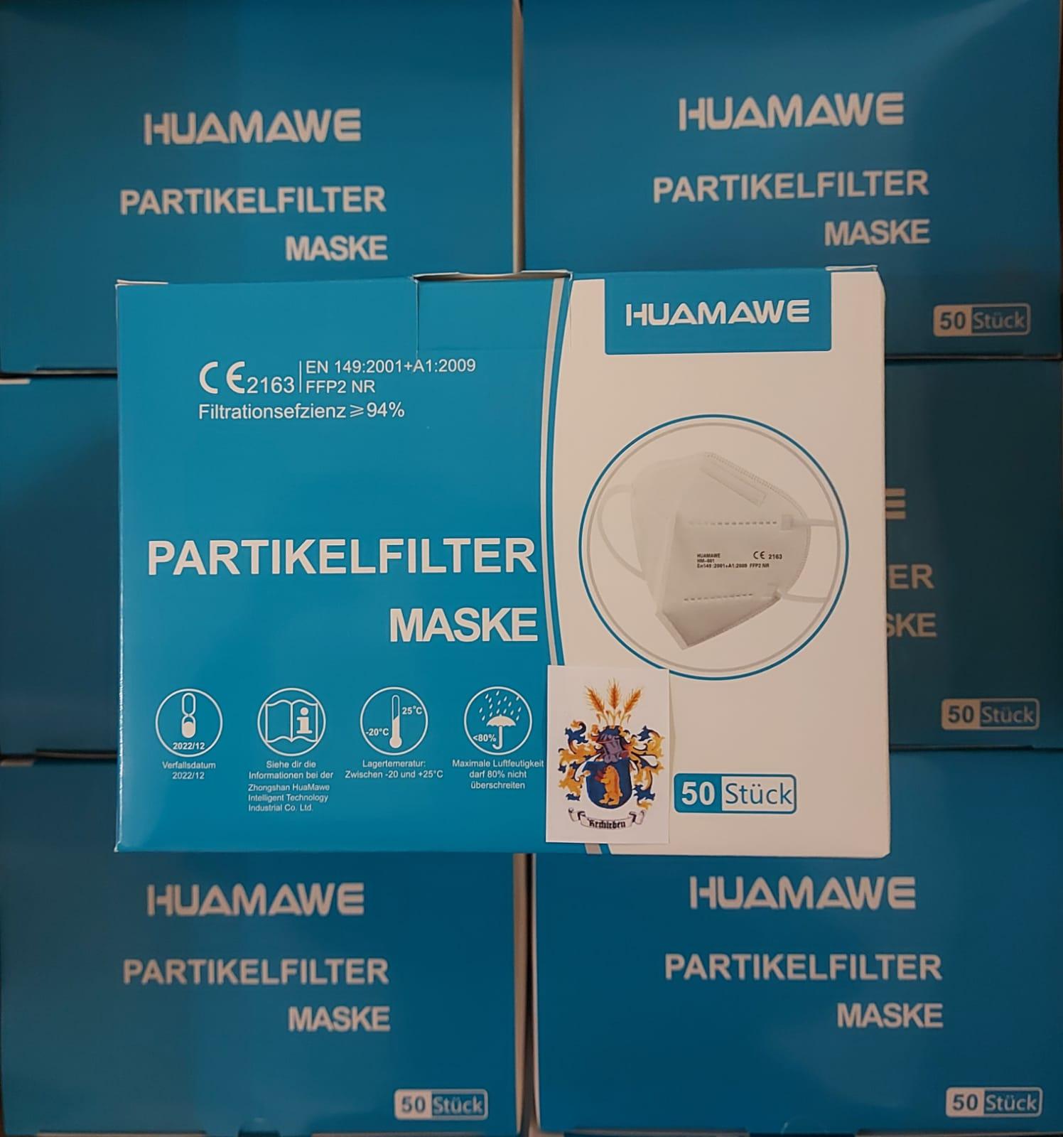 HUAMAWE HM-001 FFP2 Maske – CE 2163