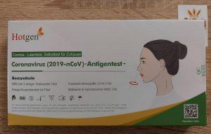 Hotgen Laientest Selbsttest für Zuhause Einzelpackung