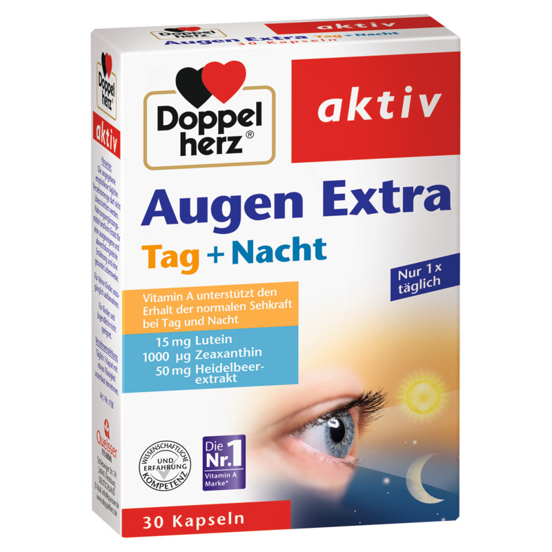 Doppelherz Augen Extra Tag Nacht Kapseln 30 Stück EAN 4009932009385