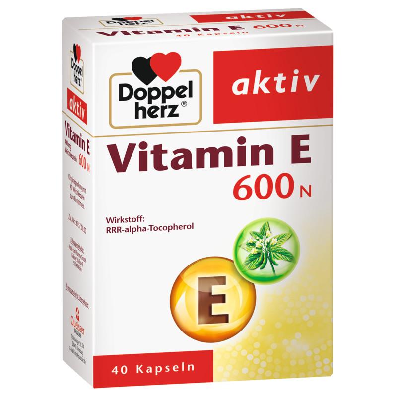 Doppelherz Vitamin E 600N Kapseln EAN 4009932009064